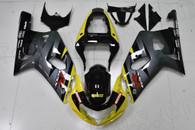 2001 2002 2003 Suzuki GSXR 600, GSXR750 yellow and grey fairings.