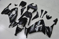 2008 2009 2010 Kawasaki ZX-10R black fairings.