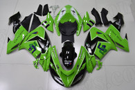 2006 2007 Kawasaki ZX-10R green fairing kit.