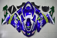2006 2007 Kawasaki ZX-10R Movistar team repillca fairing kit.