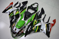 2013 to 2018 Kawasaki ZX-6R OEM scheme fairings.