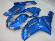 2007 2008 Kawasaki ZX-6R blue fairing kit