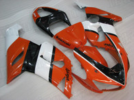 005 2006 Kawasaki ZX-6R orange fairing kit
