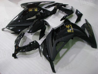 Kawasaki Ninja 300 black fairing kit