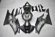2008 to 2016 Yamaha R6 matte grey fairing kit.