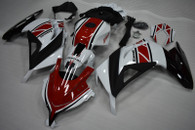 Kawasaki Ninja 300 fairings with Yamaha 50th anniversary scheme