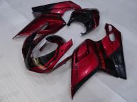 Ducati 848 1098 1198 OEM replacement fairings red and black