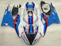 2015 2016 BMW S1000RR blue and white fairings
