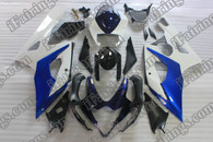 Suzuki GSXR1000 2005 2006 gray and silver fairing kits, this Suzuki GSXR1000 2005 2006 plastics was applied in gray and silver graphics, this 2005 2006 GSXR1000 fairing set comes with the both color and decals shown as the photo.If you want to do custom fairings for GSXR1000 2005 2006,our talented airbrusher will custom it for you.