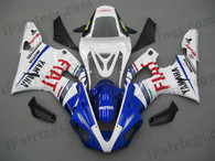 Yamaha YZF-R1 2000 2001 Fiat replica fairing kits, this Yamaha YZF-R1 2000 2001 plastics was applied in Fiat replicagraphics, this 2000 2001 YZF-R1 fairing set comes with the both color and decals shown as the photo.If you want to do custom fairings for YZF-R1 2000 2001,our talented airbrusher will custom it for you.