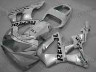 Honda CBR900RR 929 2000 2001 Rossi Repsol fairing kits, this Honda CBR900RR 929 2000 2001 plastics was applied in Rossi Repsol graphics, this 2000 2001 CBR900RR 929 fairing set comes with the both color and decals shown as the photo.If you want to do custom fairings for CBR900RR 929 2000 2001,our talented airbrusher will custom it for you.