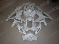 Suzuki GSXR600/750 2006 2007 pearl white fairing kits, this Suzuki GSXR600/750 2006 2007 plastics was applied in pearl white graphics, this 2006 2007 GSXR600/750 fairing set comes with the both color and decals shown as the photo.If you want to do custom fairings for GSXR600/750 2006 2007,our talented airbrusher will custom it for you.