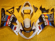 Suzuki GSXR1000 2000 2001 2002 custom fairing kits, this Suzuki GSXR1000 2000 2001 2002 plastics was applied in custom graphics, this 2000 2001 2002 GSXR1000 fairing set comes with the both color and decals shown as the photo.If you want to do custom fairings for GSXR1000 2000 2001 2002,our talented airbrusher will custom it for you.