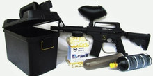 Tippmann Alpha Black Deter-It Starter Package