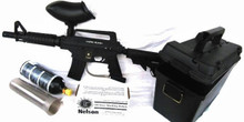 Tippmann Alpha Black Pellet Mark Starter Package