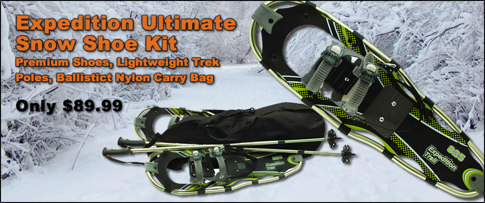 Expedition Ultimate Snow Shoe Kit