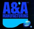 "A&A Manufacturing | AVSC Drain, Conc.Dual Suction,3"" spg x 2 1/2""s, Black | 556404"