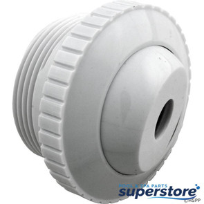 "Pentair Pool Products | Inlet Fitting, Pentair, 1-1/2""mpt, 1/2"" Orifice, White 