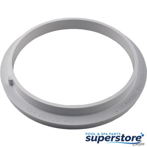 "AquaStar Pool Products | 8"" Adj. Adapter Collar For Pentair Sump,White 