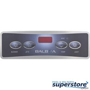 Balboa Water Group | Overlay, BWG Lite Duplex Digital, Jet/Blower/Light, LED | 10671