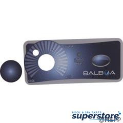 Balboa Water Group | Overlay, BWG Duplex, 1 Button/Knob | 10313