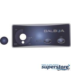 Balboa Water Group | Overlay, BWG Duplex, 2 Button/Knob | 10317