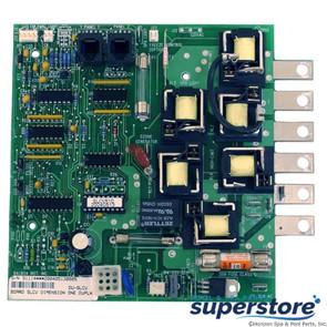 Balboa Water Group | PCB, Dimension One, 1560-90 SLCV, Duplex Analog,w/Phone Plug | 51114 | SLCVR1D