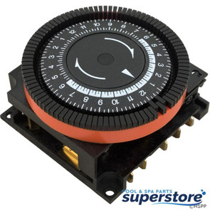 Borg General Controls   Timer, Diehl, SPDT, Panel Mount, 230v, 24hr   59-581-1016   TA-4074   TA4074
