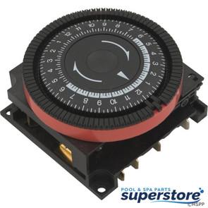Borg General Controls | Timer, Diehl, SPST, Panel Mount, 230v, 20A, 24hr | 59-581-1022 | TA4065 | 609925