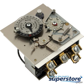 Borg General Controls | Timer, Reliance, DPST, 115v, 40A, 24hr | 59-581-1210 | 103M | M521-3