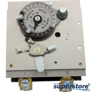 Borg General Controls | Timer, Reliance, DPST, 230v, 40A, 24hr | 59-581-1215 | 104M | M521-3-240