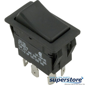 Generic | Rocker Switch, DPDT, 230v | 60-555-1605 | 12-1007 | 281152