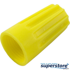 Generic | Wire Nut Connector, 18-10 AWG, Yellow, qty 25 | 60-555-1706 | 30-174 | 6YH37