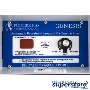 Pioneer H2O Technologies | Bromine Generator, Pioneer H2O Genesis, 115v/230v, 500 gal. | Genesis 1