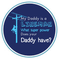 """What a great sticker for the little ones!!  2.5""""X2.5"""" makes this sticker a great addition to anything they may want to stick it to.  Made in the USA. Available in Blue and Pink!"""
