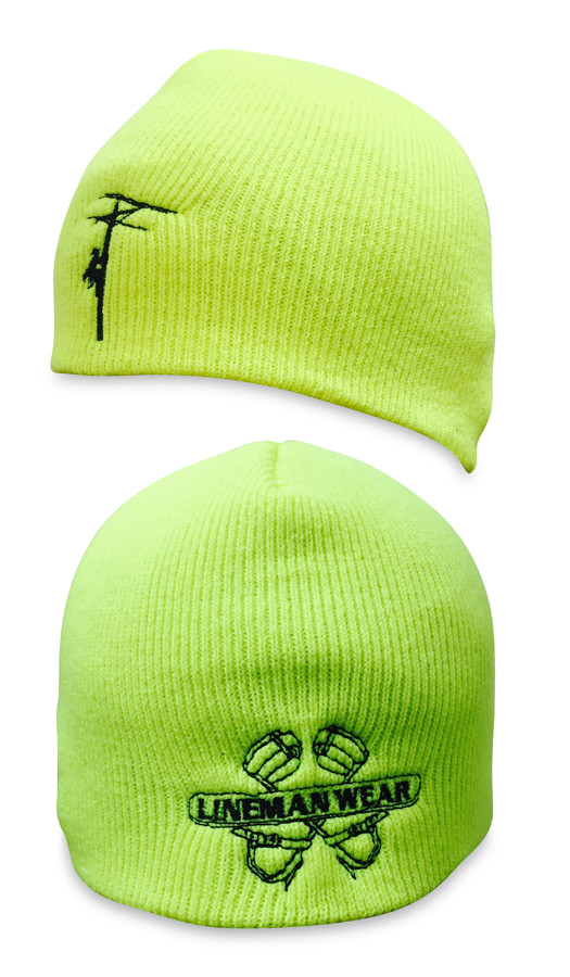 Safety Green Skull Cap Beanie. Great fit for those not wanting a cuff beanie.  Loading zoom 2a475ff33b9