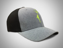 You will love this  grey wool like front with this mesh back!  This picture does not do this hat justice.  It is awesome.