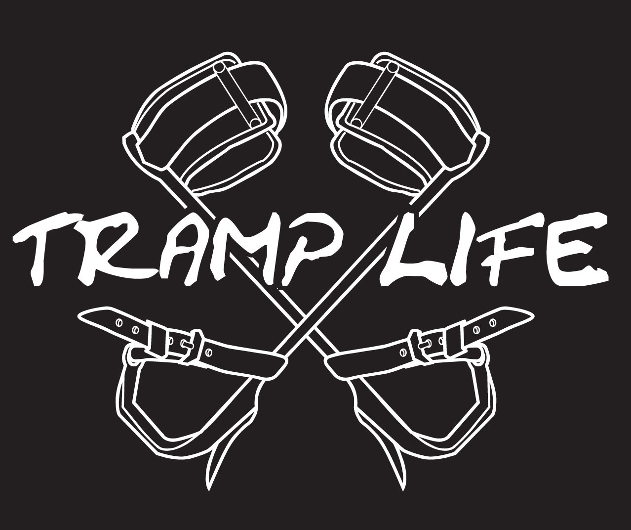 Tramp Life Decal Lineman Wear