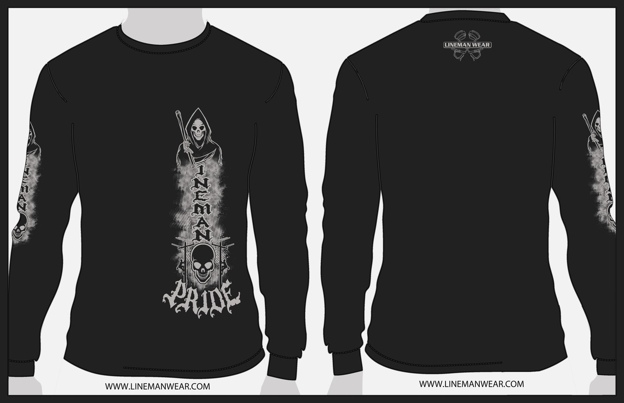9321a6dc Lineman Pride Reaper Long Sleeve - Lineman Wear