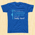 A sure favorite for any kid looking to show off the pride and love they have for their Dad!