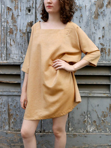 Silk Tent Dress