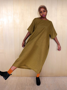 Kaftan Dress Wool