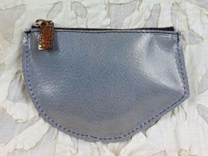 ice blue kidskin purse