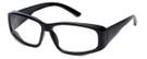Global Vision Eyewear RX Safety Series RX-G in Black