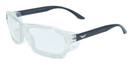Global Vision Eyewear RX Safety Series RX-I in Black-Clear