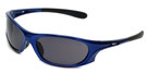 Global Vision Eyewear Full Lens RX Safety Series Ridge in Blue