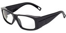 Global Vision Eyewear Full Lens RX Safety Series IROP8 in Black