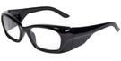 Global Vision Eyewear Full Lens RX Safety Series Y27EOP02 in Black