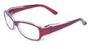 Global Vision Eyewear Full Lens RX Safety Series Y27EOP03 in Red