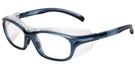 Global Vision Eyewear Full Lens RX Safety Series Y28DPF609 in Blue